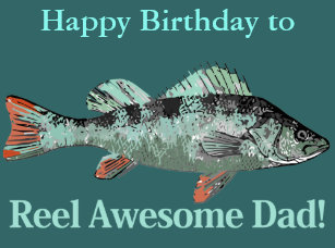 Fishing Birthday For Dads Gifts On Zazzle