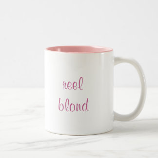 reel blond mug