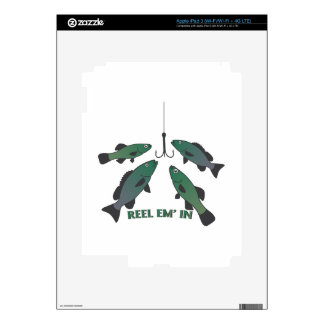 Reel Em In Decals For iPad 3