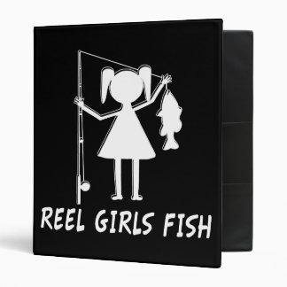 REEL GIRLS FISH - AVERY BINDER