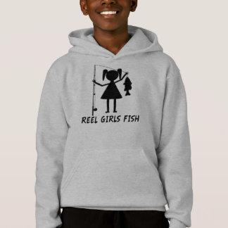 REEL GIRLS FISH! HOODIE