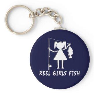 REEL GIRLS FISH! KEYCHAINS