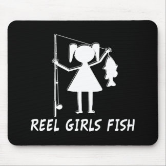 REEL GIRLS FISH! MOUSE PAD