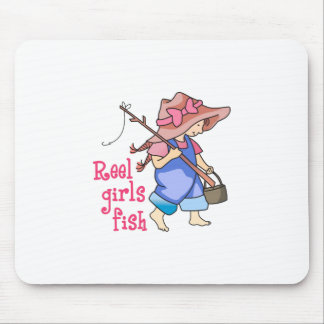 REEL GIRLS FISH MOUSE PADS