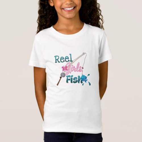 Reel Girls Fish T_shirts