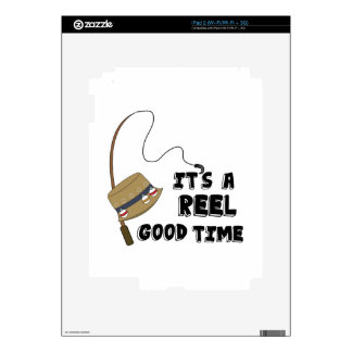 Reel Good Time Skins For iPad 2