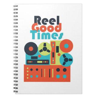 Reel Good Times Notebooks