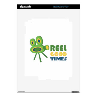 Reel Good Times Skins For The iPad 2
