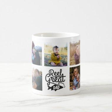 Reel Great Dad Fishing Custom Mug