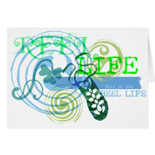 Reel Life in Blue Card