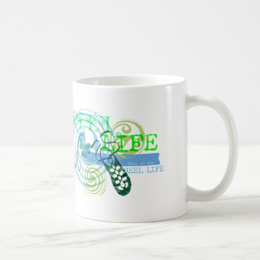 Reel Life in Blue Coffee Mug