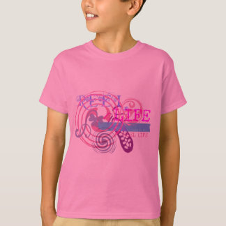 Reel Life in Pink T-Shirt