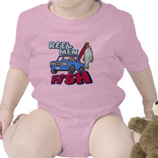 Reel Men Fish Fishing T-shirts Gifts