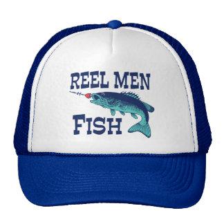 Reel Men Fish Trucker Hat