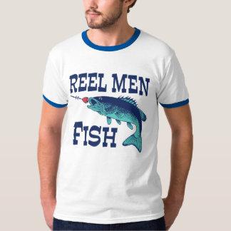 Reel Men Fish Tee Shirt