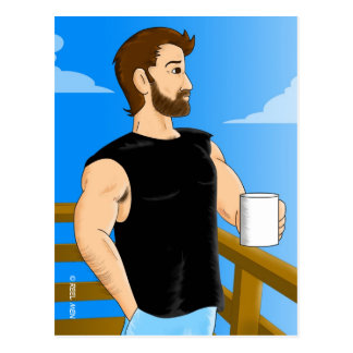 Reel Men: Jake Postcard