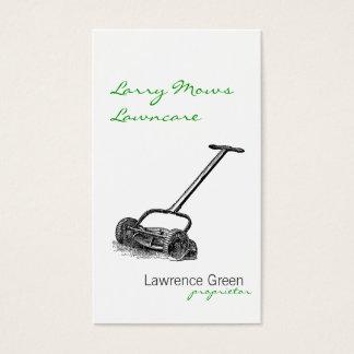 Reel Mower Business Card