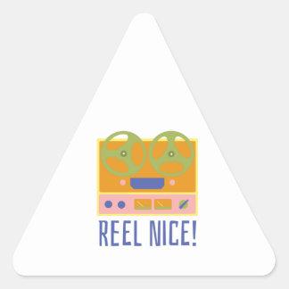 Reel Nice Triangle Sticker