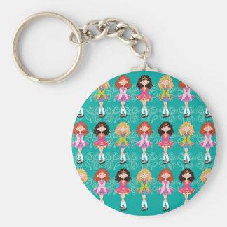 Reel Princesses Keychain