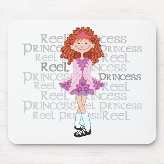 Reel Redhead Mouse Pad
