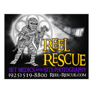 "Reel Rescue Flyers/Advertising 8.5"" X 11"" Flyer"