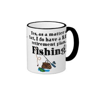 Reel Retirement Plan Ringer Mug