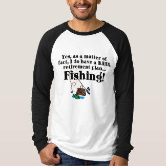 Reel Retirement Plan T-Shirt
