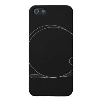Reel Silhouette (cameo) iPhone SE/5/5s Cover