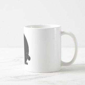 Reel Silhouette cameo Coffee Mug