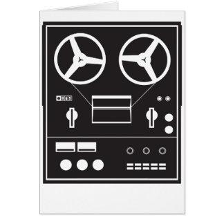 reel tape recorder card