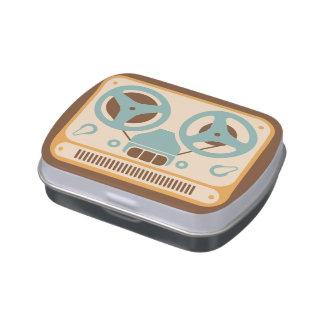Reel to Reel Analog Tape Recorder Candy Tins