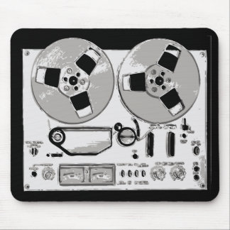 Reel to Reel Mouse Pad