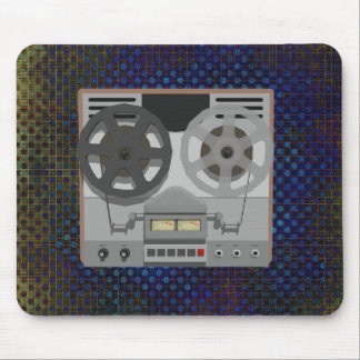 Reel to Reel Tape Player: 3D Model: Mousepad