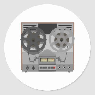 Reel to Reel Tape Player 3D Model Stickers