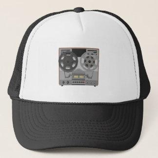 Reel to Reel Tape Player: 3D Model: Trucker Hat