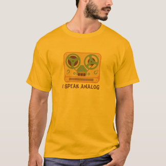 Reel to Reel Tape Recorder Analog Device T-Shirt