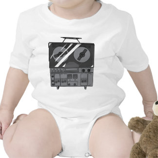 Reel To Reel Tape Recorder Player Vintage T Shirts