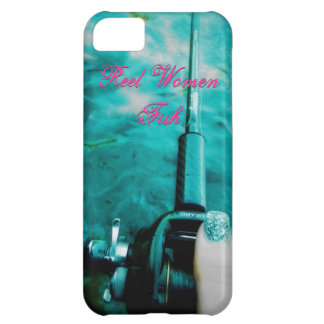 Reel Women Fish Cover For iPhone 5C