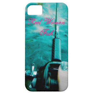 Reel Women Fish iPhone 5 Cover