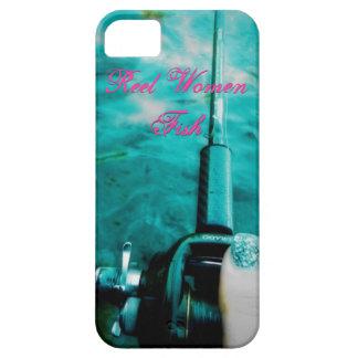 Reel Women Fish iPhone SE/5/5s Case