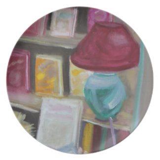 Reelbooks Bookstore Interior:Fontainebleau Plate