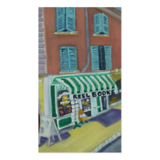 REELBOOKS -FONTAINEBLEAU FRANCE Double-Sided STANDARD BUSINESS CARDS (Pack OF 100)