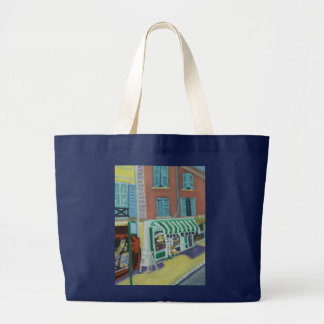 REELBOOKS-FONTAINEBLEAU FRANCE LARGE TOTE BAG