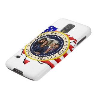 Reelección 2012 de presidente Obama Fundas De Galaxy S5