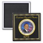 Reelección 2012 de presidente Obama Imán De Frigorífico