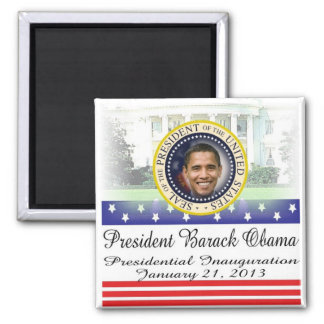 Reelección 2012 de presidente Obama Imán Cuadrado