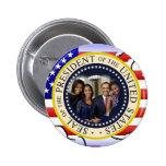 Reelección 2012 de presidente Obama Pin