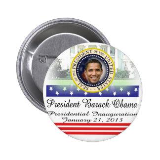 Reelección 2012 de presidente Obama Pins