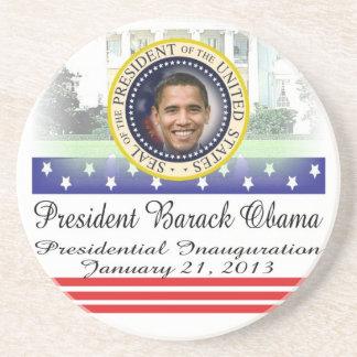 Reelección 2012 de presidente Obama Posavasos Para Bebidas