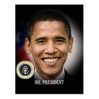 Reelección 2012 de presidente Obama Tarjeta Postal